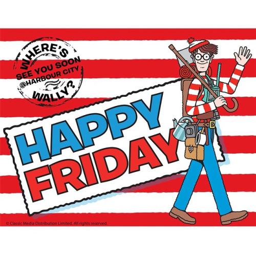 Happy Friday! See you soon! #whereswally #wally.