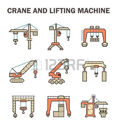 1,754 Harbor Crane Stock Illustrations, Cliparts And Royalty Free.