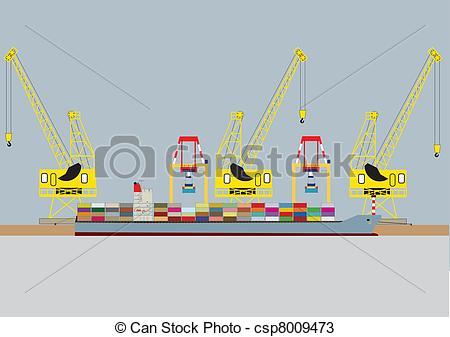 Harbour crane Vector Clip Art Illustrations. 143 Harbour crane.