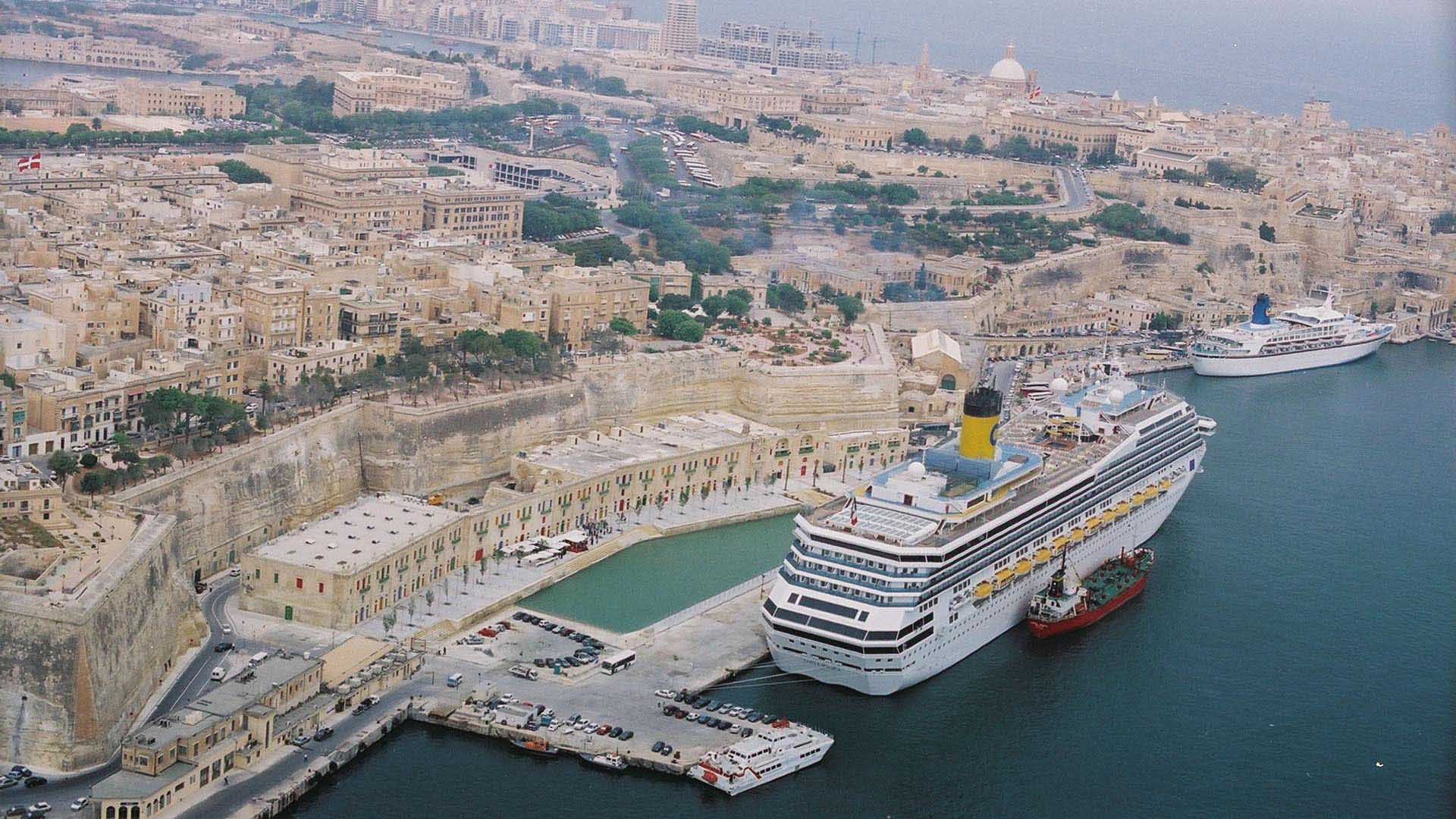 Valletta Waterfront.