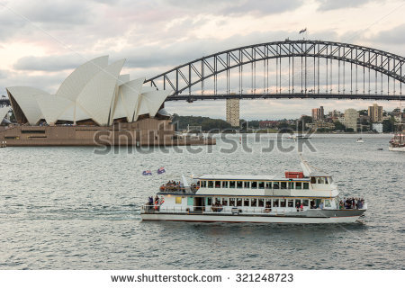 Sydney Harbour Cruise Stock Photos, Royalty.