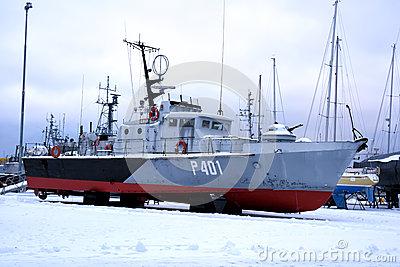 Flying Harbour (Estonian Maritime Museum) Editorial Stock Photo.