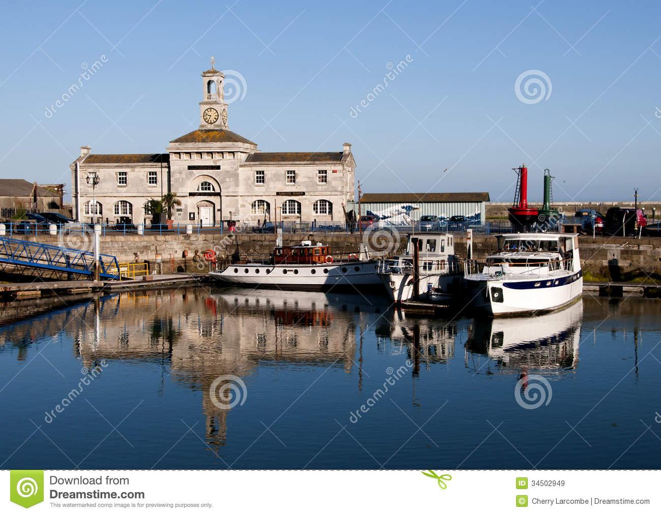 Ramsgate Maritime Museum Royalty Free Stock Images.