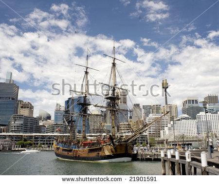 Sydney Darling Harbour Stock Photos, Royalty.
