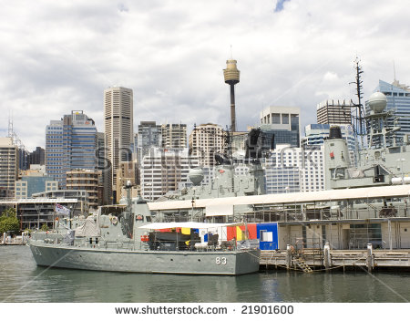 Sydney Darling Harbour Stock Photos, Royalty.