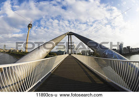 Stock Images of Germany, North Rhine Westphalia, Düsseldorf, Media.