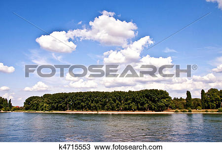 Stock Photo of harbour view in worms k4715553.