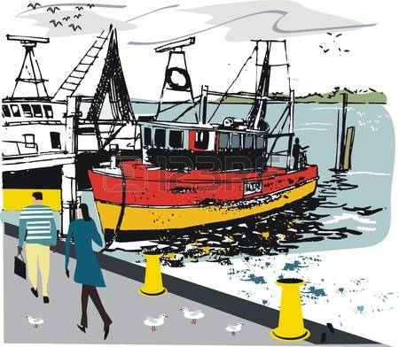 Harbours Stock Vector Illustration And Royalty Free Harbours Clipart.