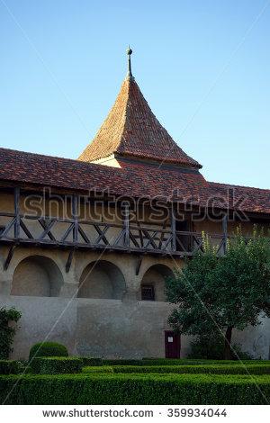 View On Russian Folktales Wooden Castle Stock Photo 21145783.