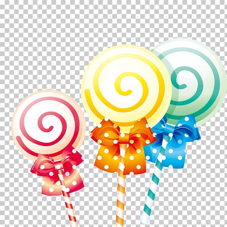 Lollipop Hard candy Cartoon, Cartoon lollipop PNG clipart.