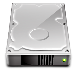 Hard disk usb hard drive clipart image #17848.