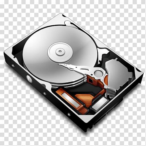 Hard Drives Disk storage Parallel ATA Computer Icons, Hard.