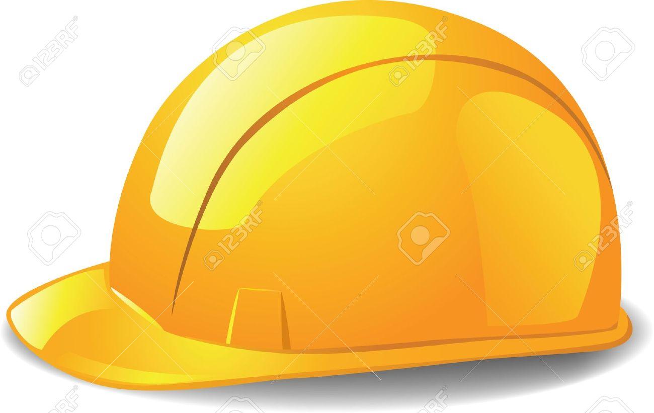 Construction hat silhouette