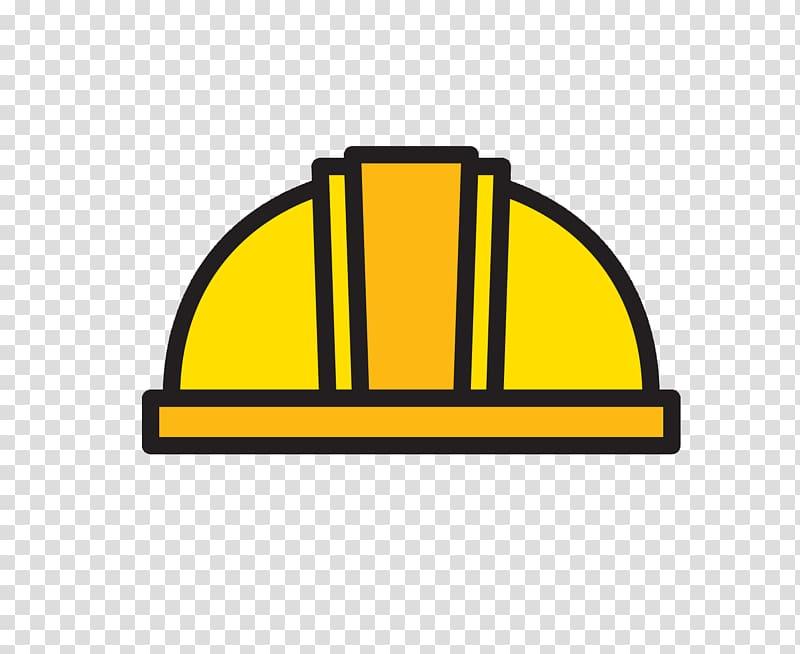 Yellow hardhat illustration, Hard hat Yellow Architectural.