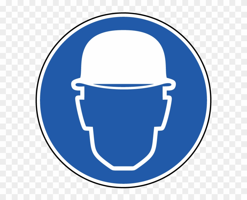 Wear Hard Hat Label.
