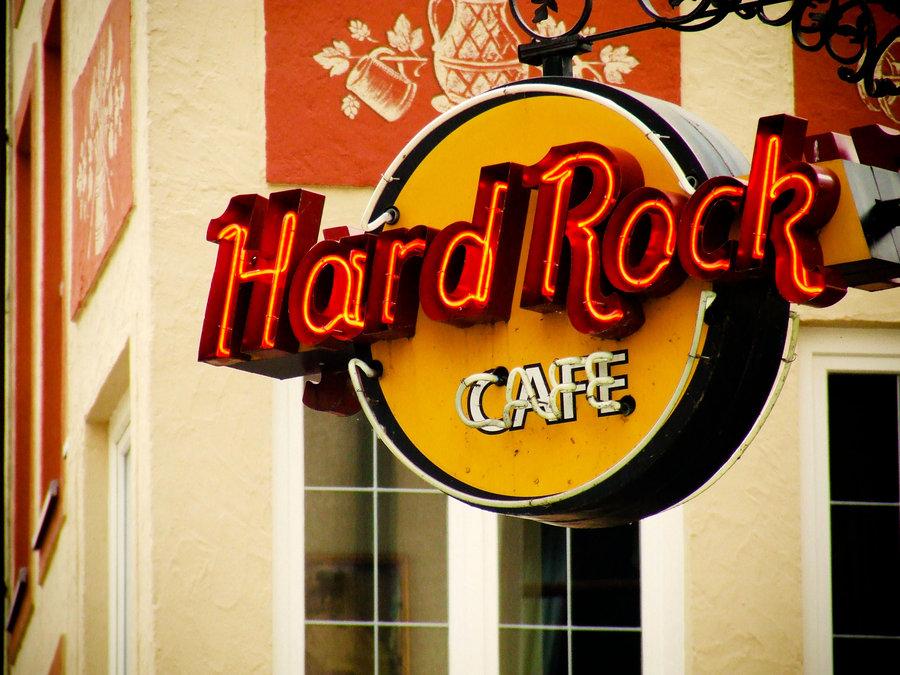 Hard rock cafe clipart #5