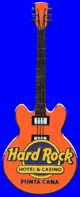 Hard Rock cafe guitar pins punta cana domnican republic.