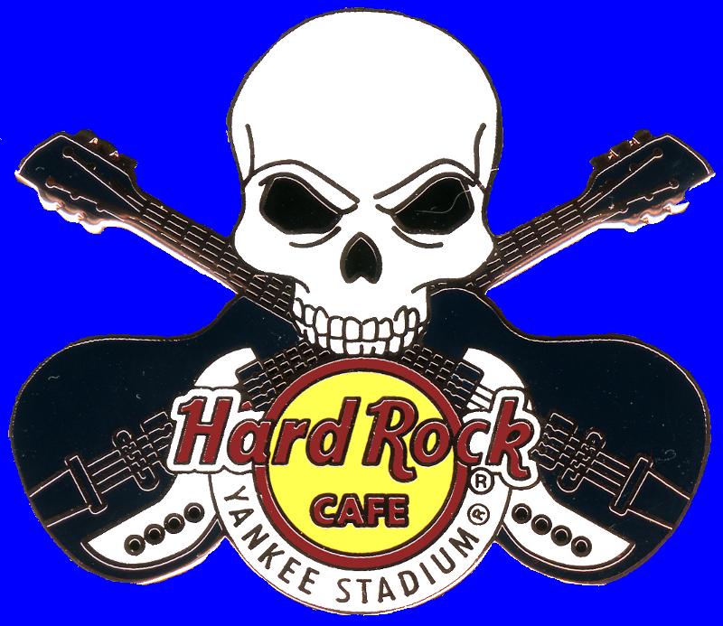 Hard Rock cafe guitar pins new york city, usa.