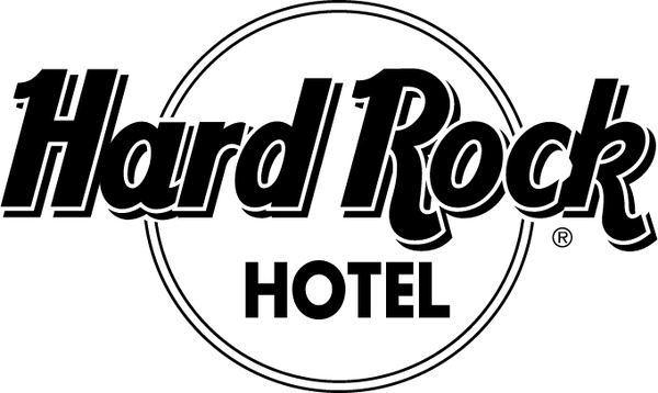 Hard rock hotel 0 Free vector in Encapsulated PostScript eps.