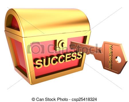 Success Hard Work Clipart.