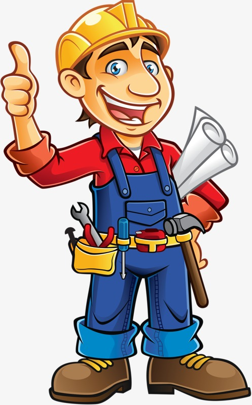 Workers Painted Worker Lovely Hard PNG Image And Glamorous Clipart.