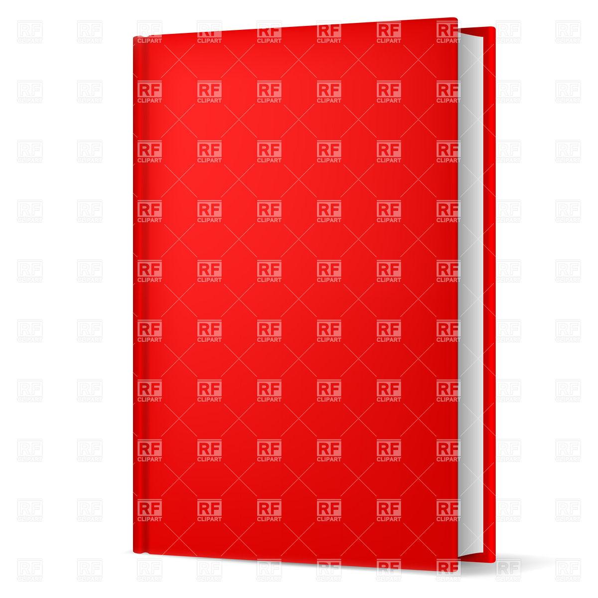 Hardback red book Vector Image #20860.