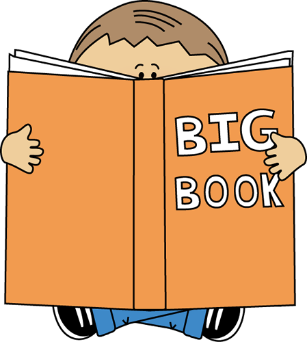 Book with house in center hardcover female protagonist clipart.