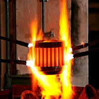 Flame Hardening in India.