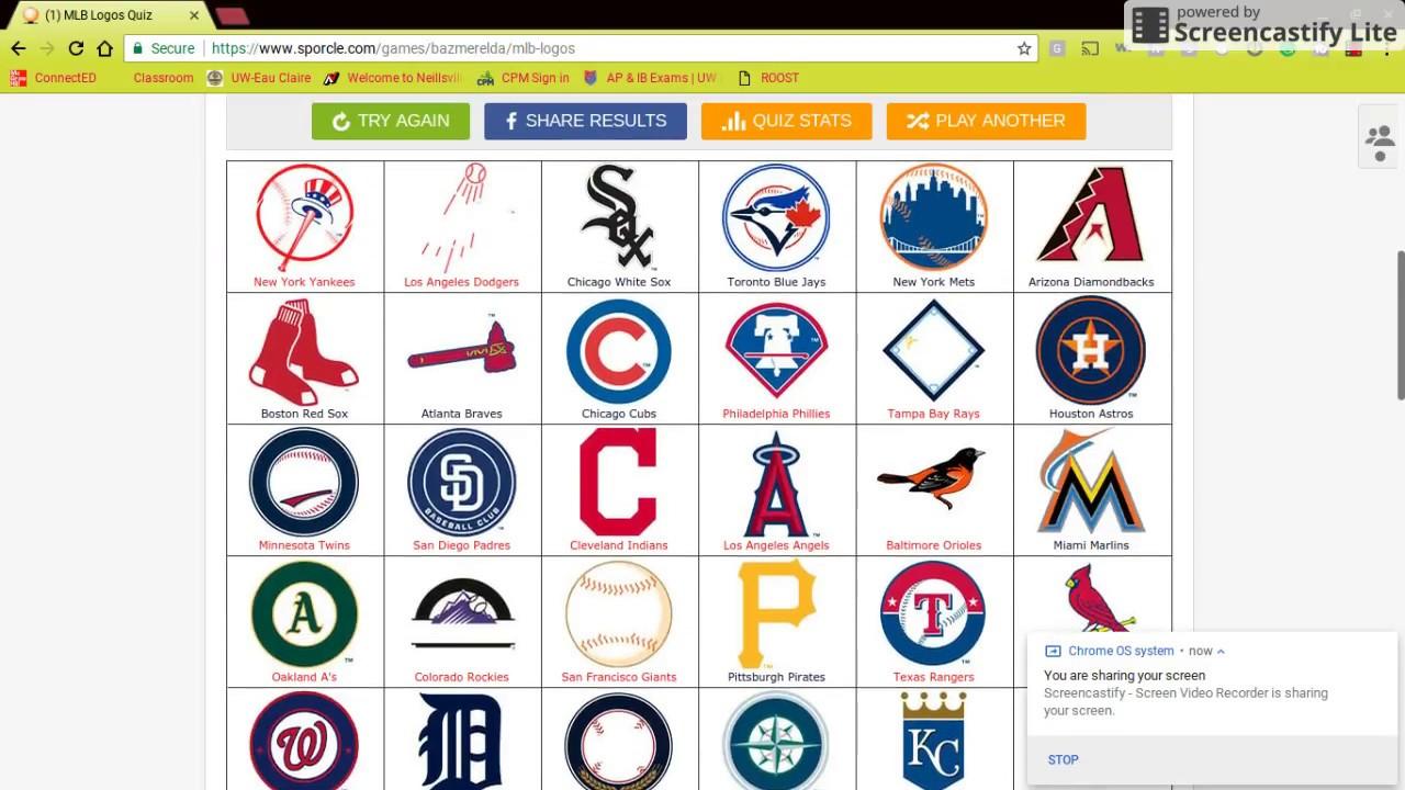 MLB LOGO QUIZ!!.