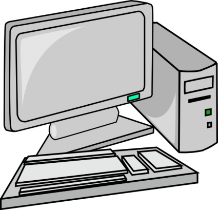 Computer Hardware Clip Art.