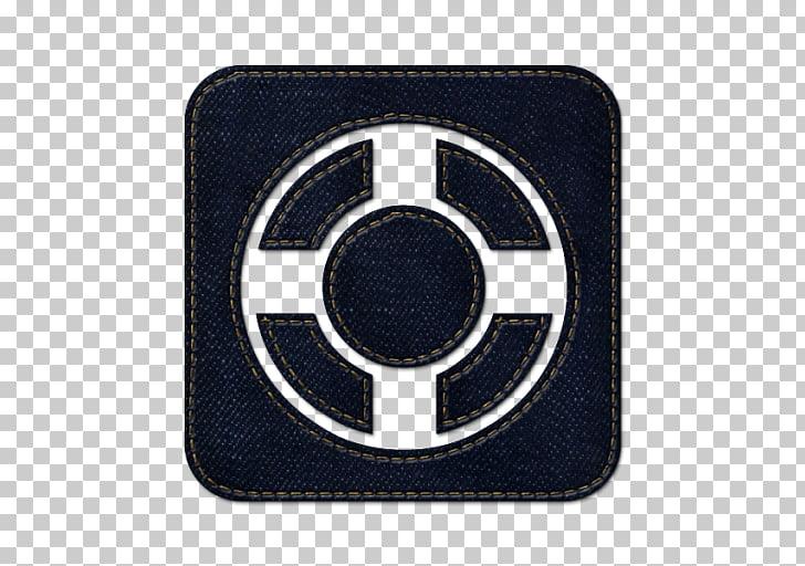 Emblem brand hardware logo, Designfloat square, square black.