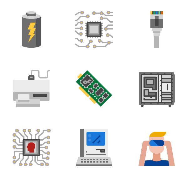 113 hardware icon packs.