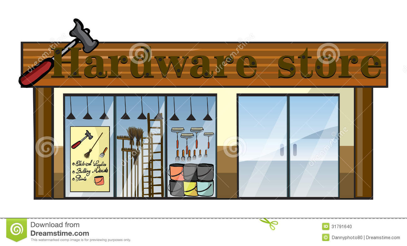 Hardware Store Clipart.