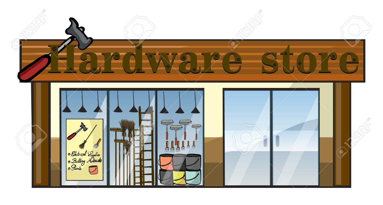 3,791 Hardware Store Cliparts, Stock Vector And Royalty Free.