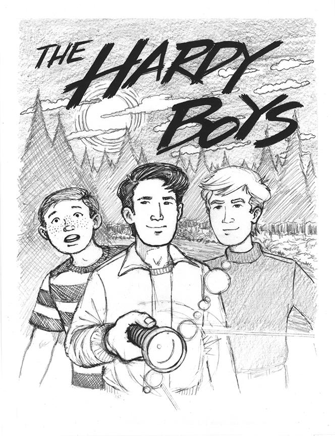 The hardy boyz clipart.