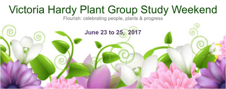 Victoria Hardy Plant Group Study Weekend 2017.