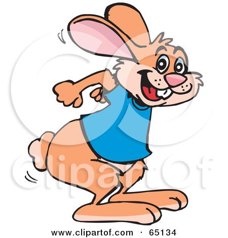 Clip art hares.