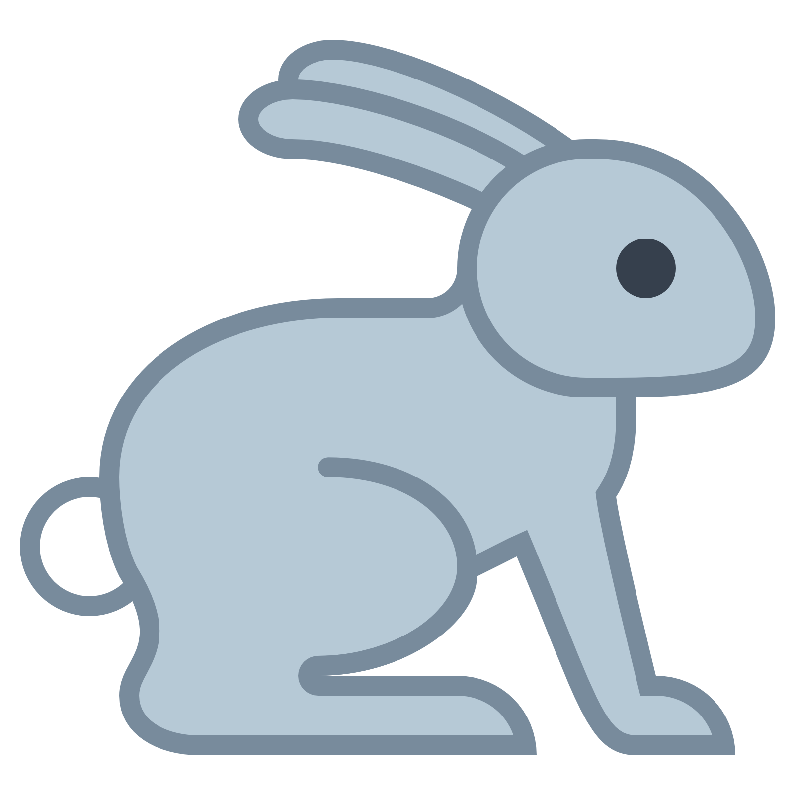 Rabbit Icon.
