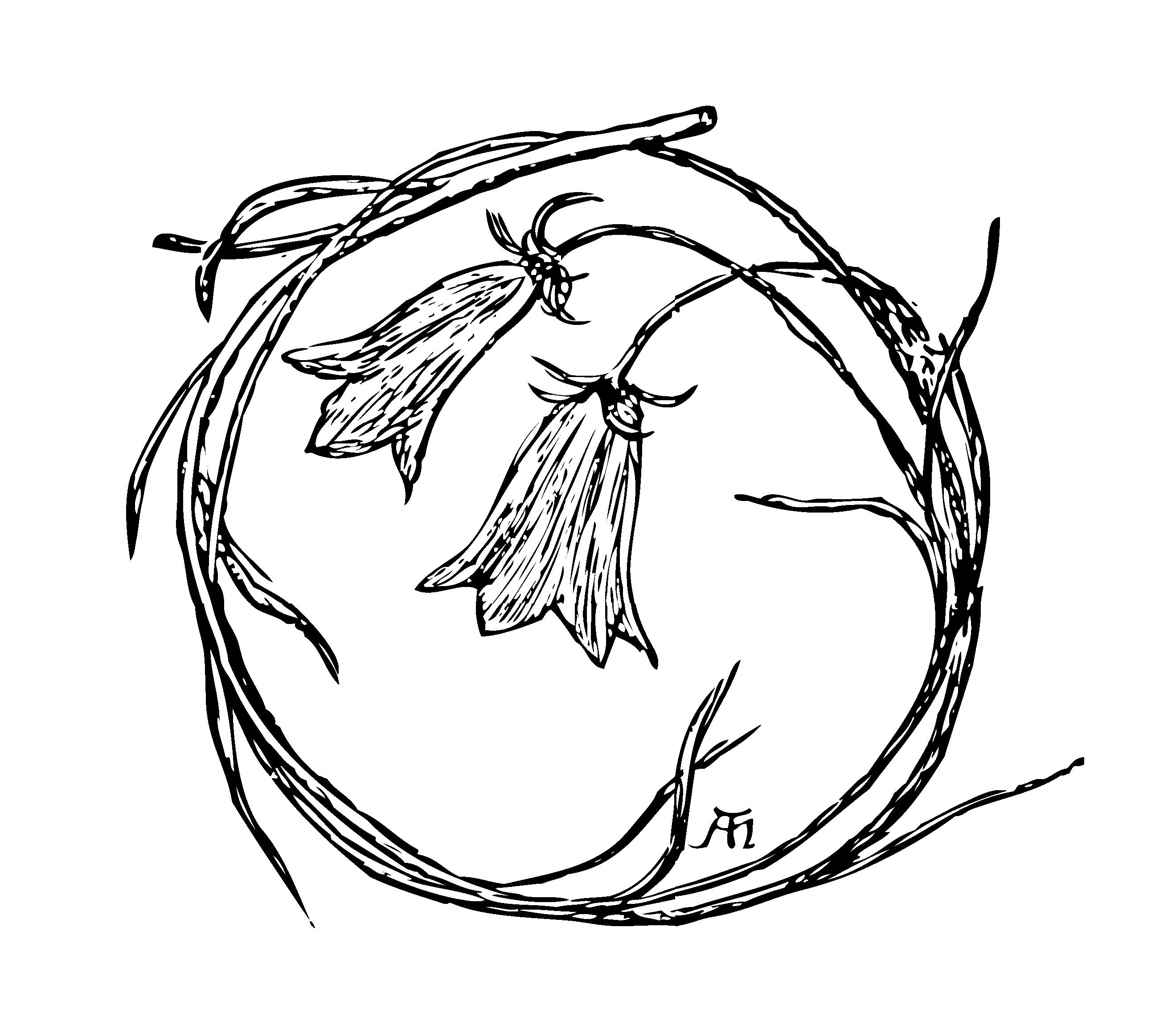Rossetti Sing Song Harebell Flower.