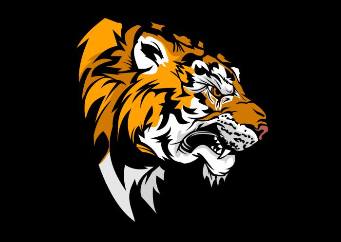 Logo Harimau Png Vector, Clipart, PSD.