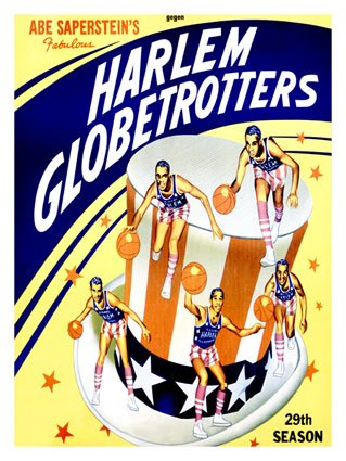 Unique Harlem Globetrotters Pictures, Posters & Framed Artwork!.