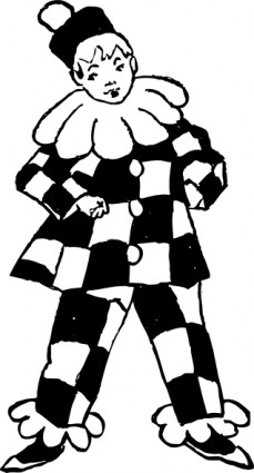 Harlequin Clipart.