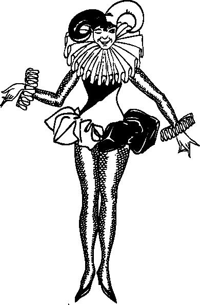 Harlequin Clipart.