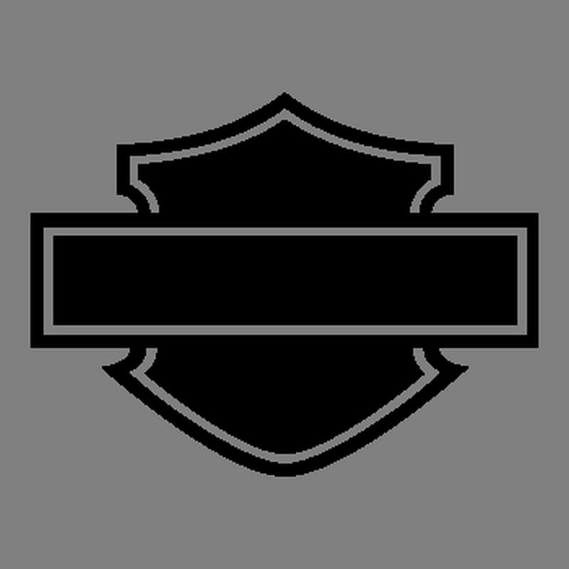 Harley Logo Silhouette.