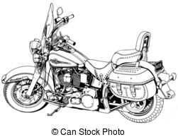 Harley Clip Art and Stock Illustrations. 997 Harley EPS.
