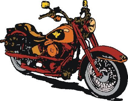 Harley davidson clip art free.