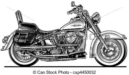 Harley Clip Art.