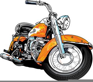 Cartoon Harley Davidson Clipart.