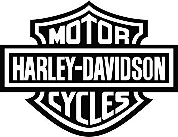 Harley Davidson Bar and Shield Decals (4