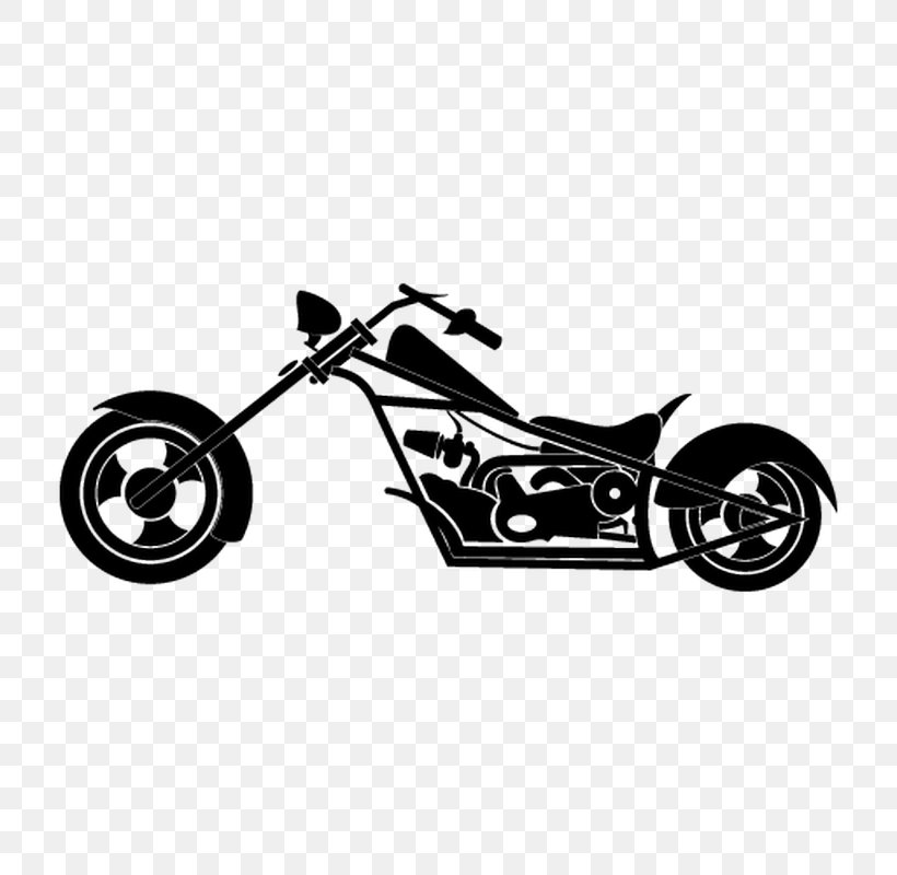 Motorcycle Chopper Harley.